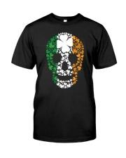 Shamrock Skull Classic T-Shirt front