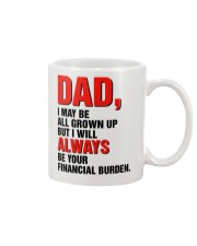 Your financial burden Mug front