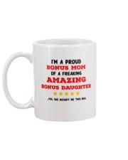 A Proud Bonus Mom Mug back