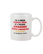 A Proud Bonus Mom Mug front
