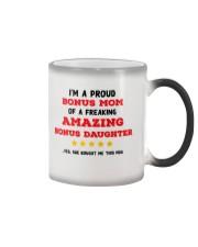A Proud Bonus Mom Color Changing Mug thumbnail