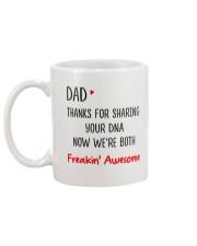 Thanks For Sharing Your DNA Mug back