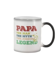 Papa The Fishing Legend Color Changing Mug thumbnail