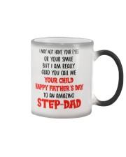 I Glad You Call Me Your Child Color Changing Mug thumbnail