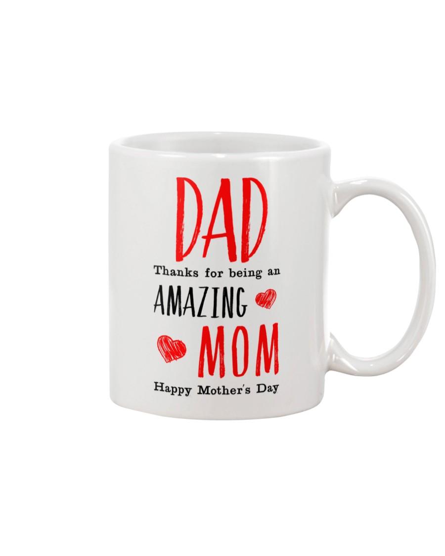Dad Amazing Mom Mug