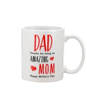 Dad Amazing Mom Mug front