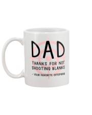Dad Shooting Blanks Mug back