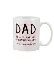 Dad Shooting Blanks Mug front