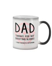 Dad Shooting Blanks Color Changing Mug thumbnail