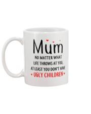 Mum Ugly Children Mug back