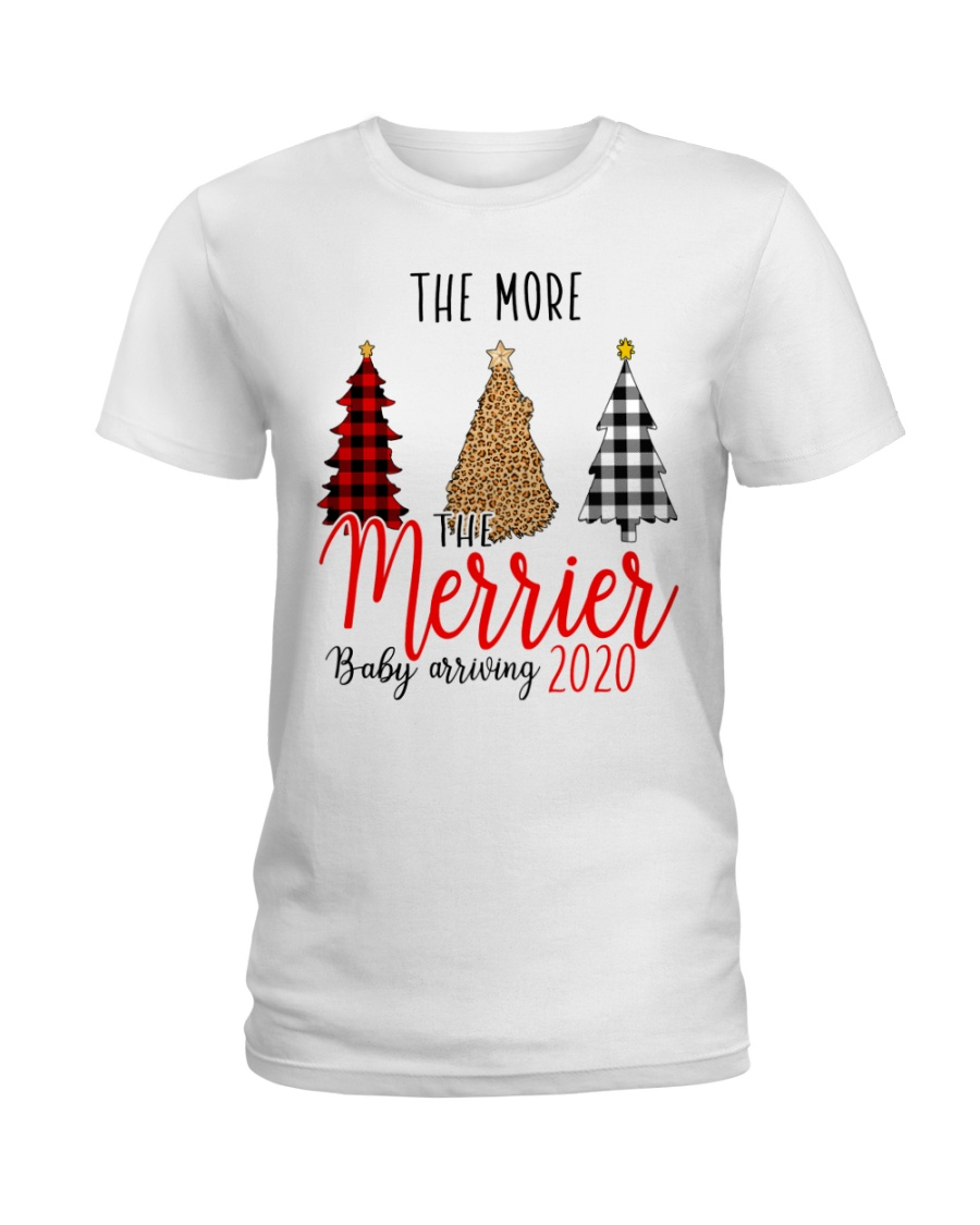 The More The Merrier Ladies T-Shirt