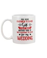 Not Pay For My WEDDING Mug back