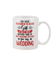 Not Pay For My WEDDING Mug front