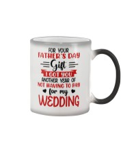Not Pay For My WEDDING Color Changing Mug thumbnail