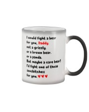 Fight A Bear For You Color Changing Mug thumbnail
