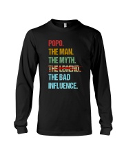 Popo Bad Influencer Long Sleeve Tee thumbnail
