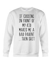 Bad parent Crewneck Sweatshirt thumbnail