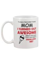 Gad Not Swallow Mug back