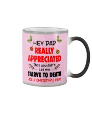 Appreciated That You Didn't Let Me Starve To Death Color Changing Mug tile