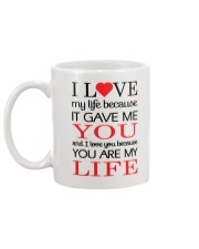 You're My Life  Mug back