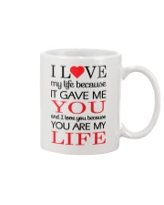 You're My Life  Mug front