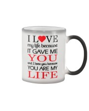 You're My Life  Color Changing Mug thumbnail