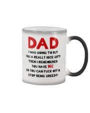 Dad Stop Being Greedy Color Changing Mug thumbnail