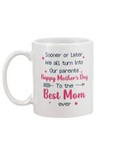 Sooner Later Turn Into Parents Mug back