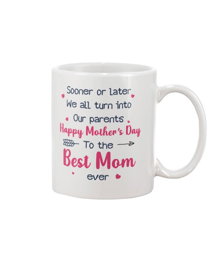 Sooner Later Turn Into Parents Mug