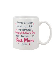 Sooner Later Turn Into Parents Mug front