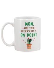 Mom On Point Cactus Mug back