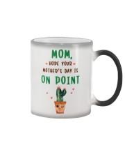 Mom On Point Cactus Color Changing Mug thumbnail