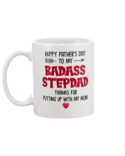 Badass Step Dad  Mug back