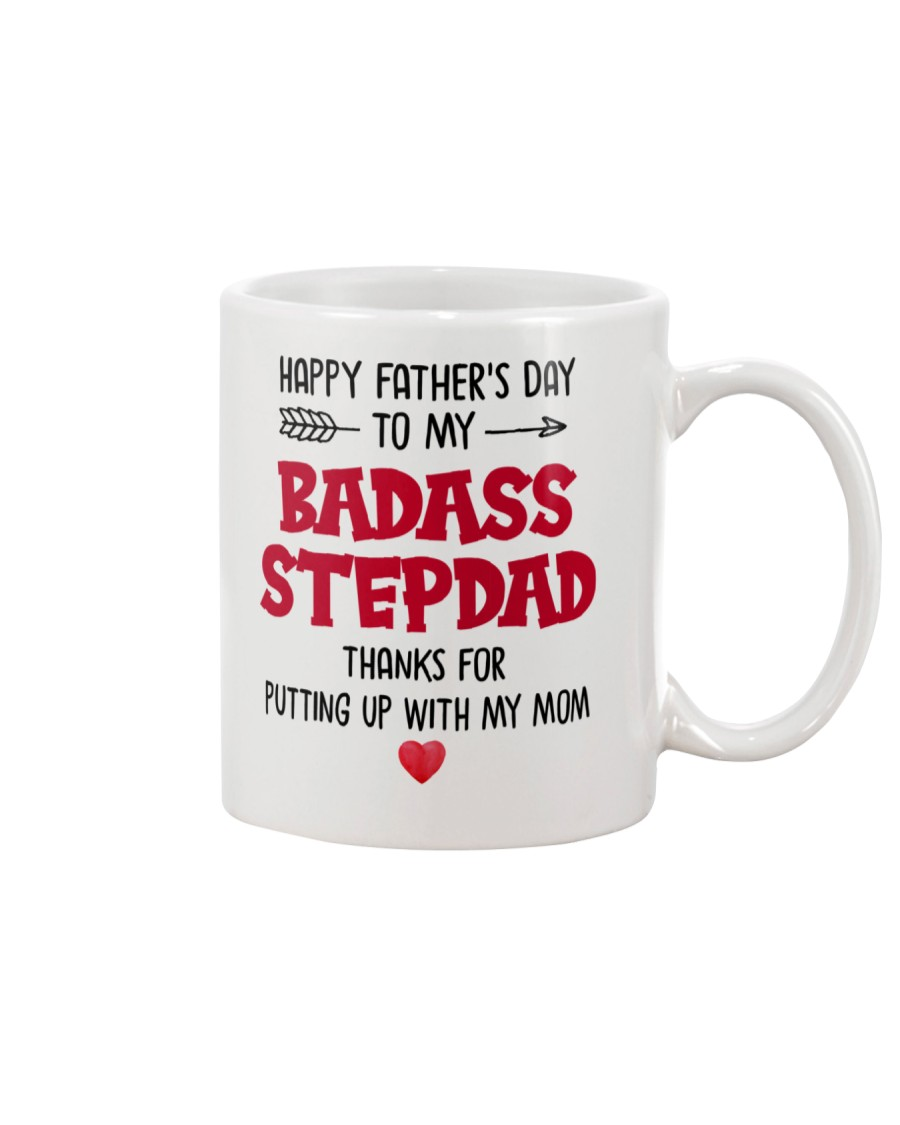 Badass Step Dad  Mug
