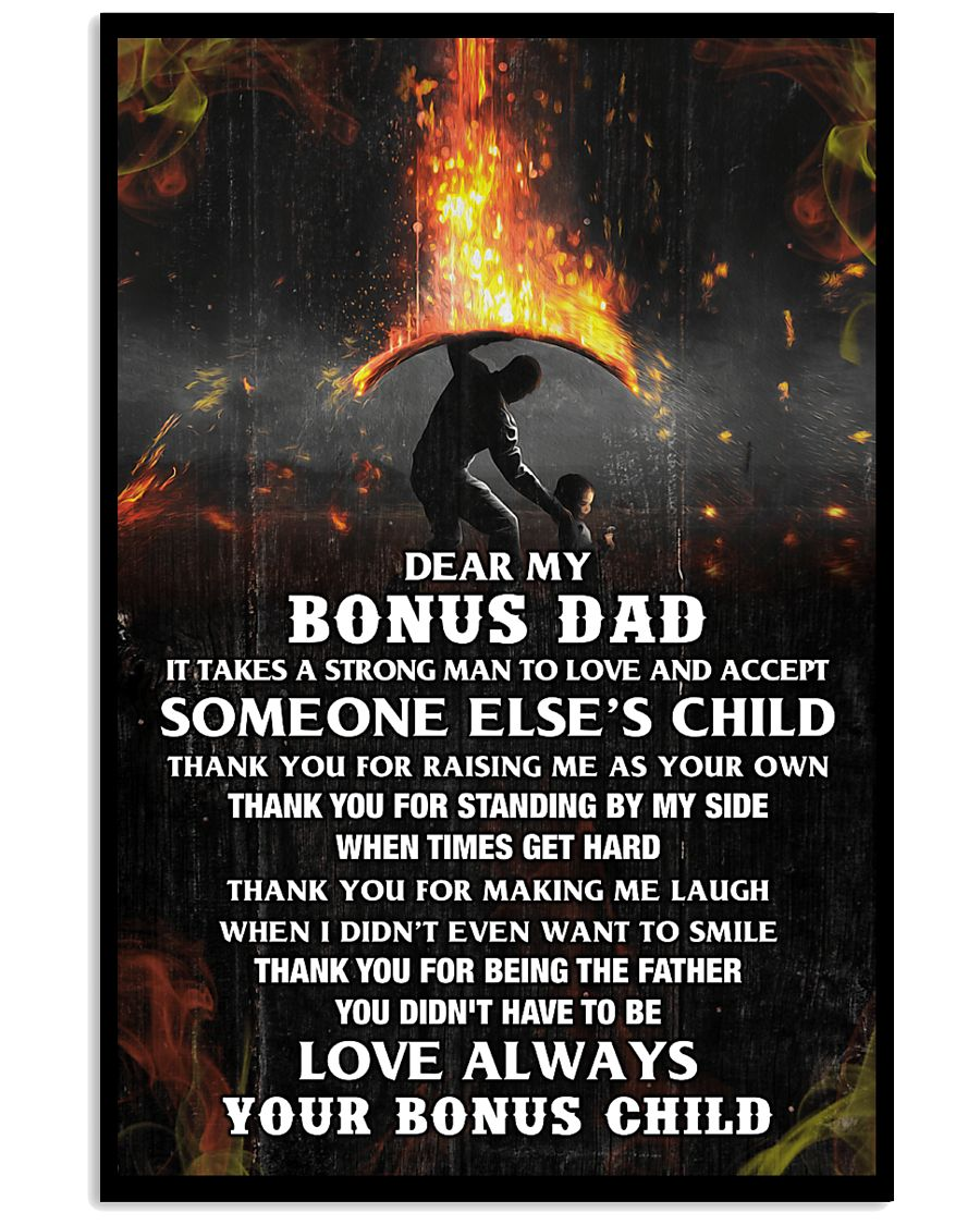 Thank You Bonus Dad 11x17 Poster