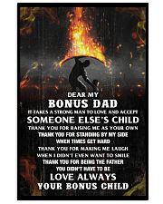 Thank You Bonus Dad 11x17 Poster front