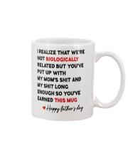 Put Up With My Mom Mug front