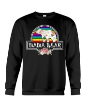 Mama bear LGBT Crewneck Sweatshirt thumbnail