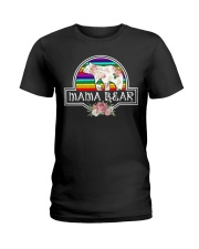 Mama bear LGBT Ladies T-Shirt thumbnail