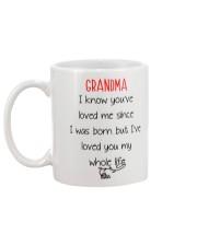Grandma Love Whole Life Mug back