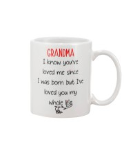 Grandma Love Whole Life Mug front
