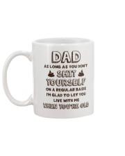 Dad Don't Shit Yourself Mug back
