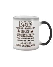 Dad Don't Shit Yourself Color Changing Mug thumbnail
