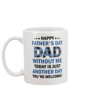Today Is Just Another Day Mug back