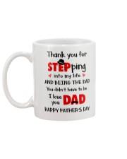 Dad Step Into Life Mug back