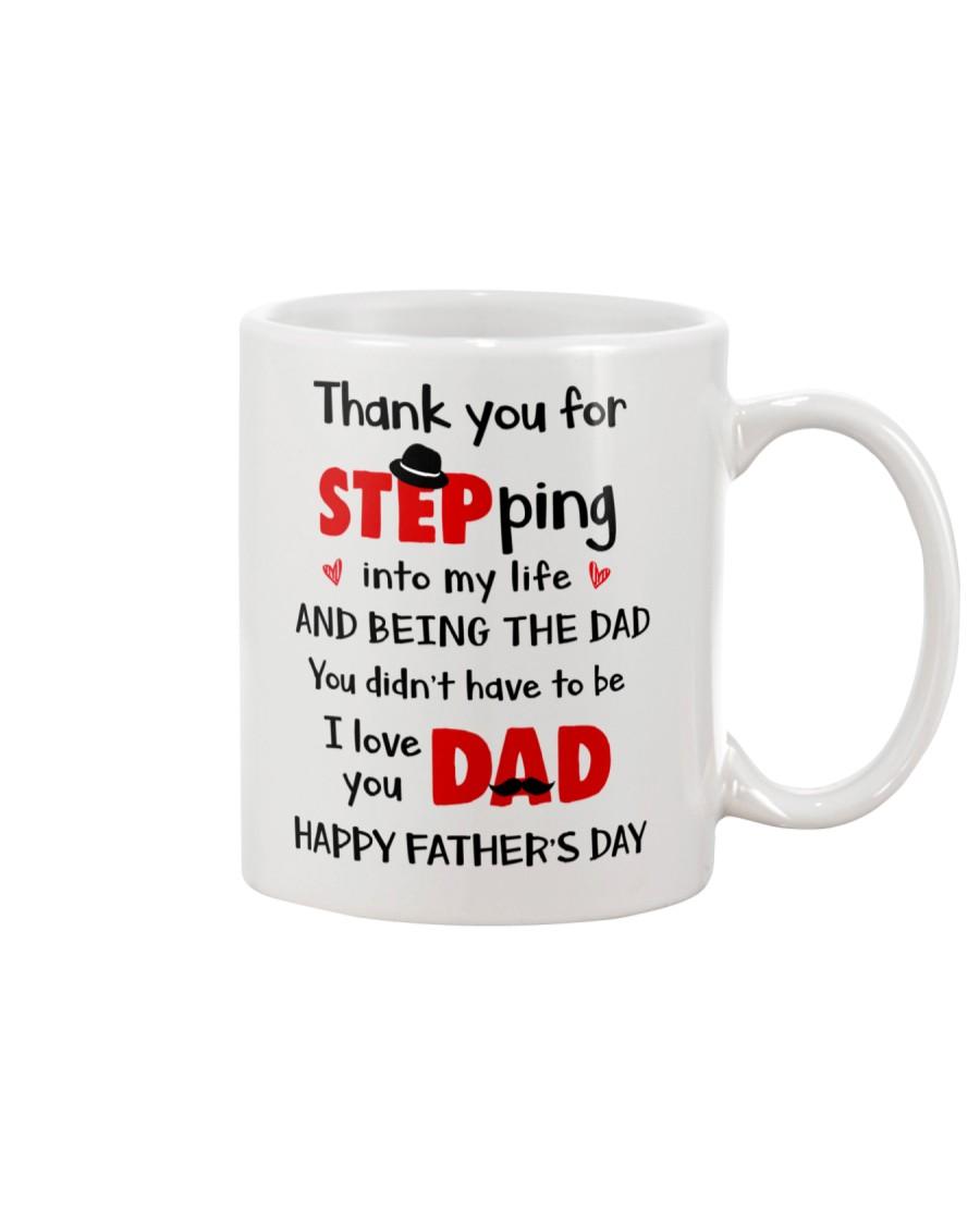 Dad Step Into Life Mug