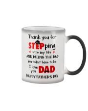 Dad Step Into Life Color Changing Mug thumbnail