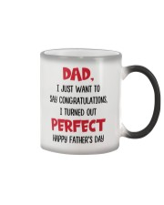 Congratulations Turned Out Perfect Color Changing Mug thumbnail