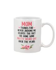 For Never Judging Me Mug front