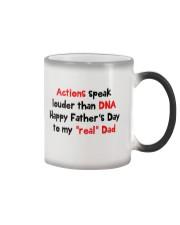 Actions Speak Louder Than DNA Color Changing Mug thumbnail